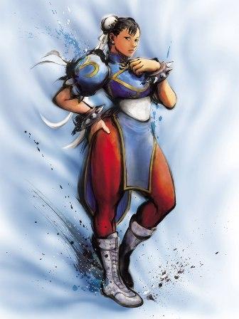 Movimientos para Street Fighter IV: Chun-Li