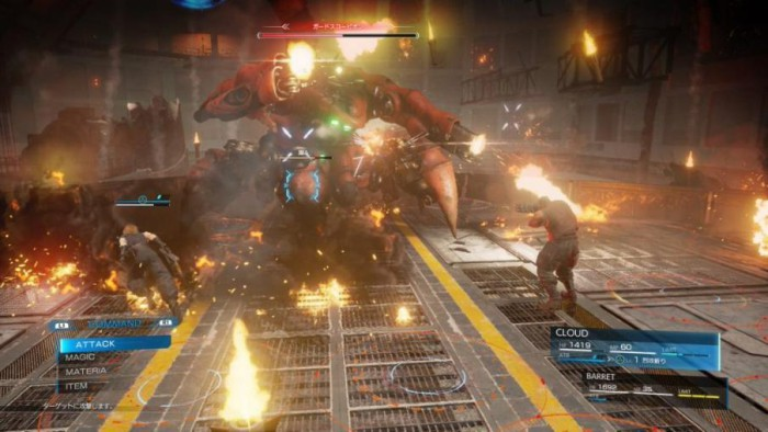 final-fantasy-7-remake-screenshot-boss-fight-combat-ui-guard-scorpion-battle