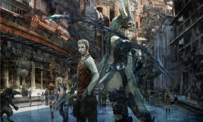 Isamu Kamikokuryo revela una pieza de arte de Final Fantasy XII: The Zodiac Age