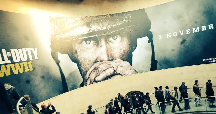 Este anuncio vuelve a confirmar que Call of Duty WWII saldrá el 3 de noviembre