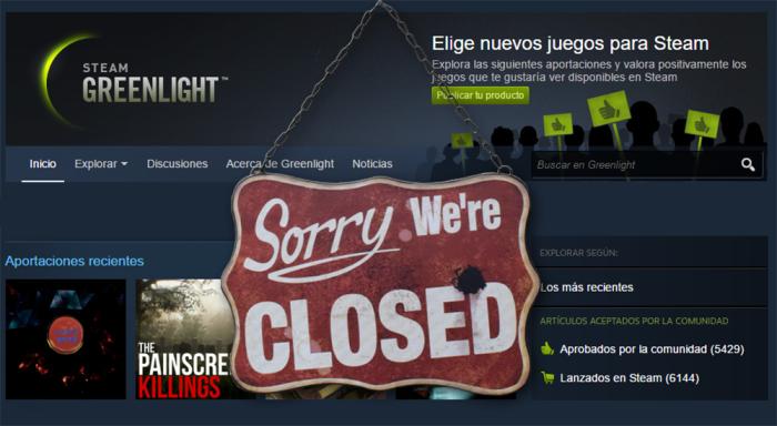 Valve eliminará Steam Greenlight