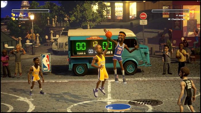 NBA Playgrounds se muestra en nuevas imágenes