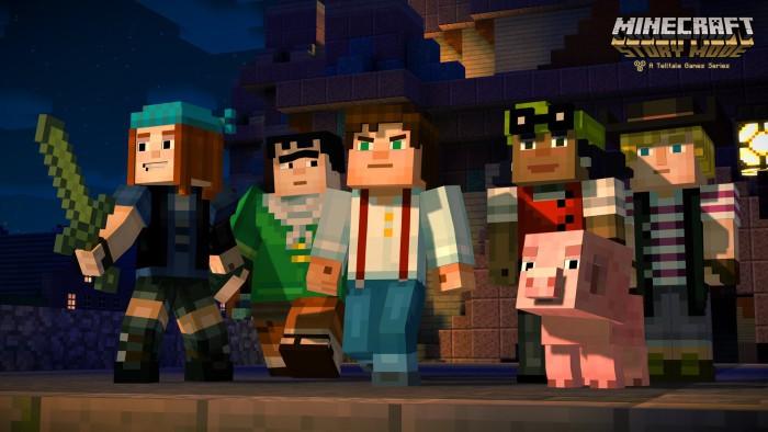 Minecraft: Story Mode se confirma para Switch
