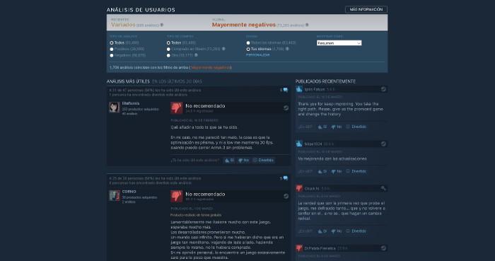 Contra los piratas: Steam no tendrá en cuenta los análisis de juegos no comprados