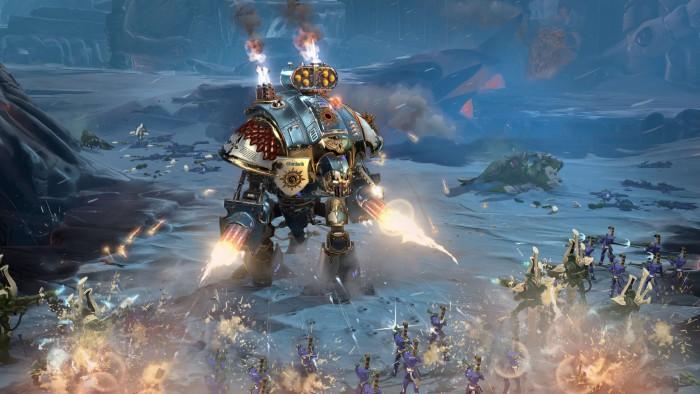 Warhammer 40.000: Dawn of War 3 anuncia su lanzamiento para abril