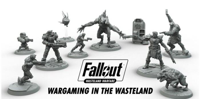 Fallout salta a los tableros con su propio wargame