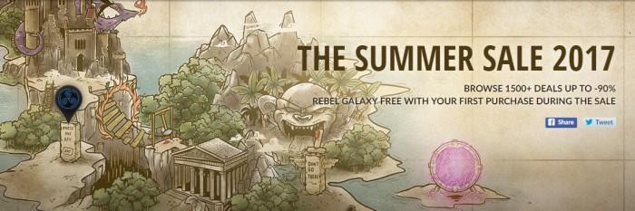 GOG da el pistoletazo de salida a sus ofertas de verano