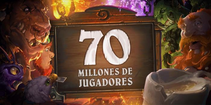 Hearthstone: 70 millones de jugadores y tres sobres de regalo para celebrarlo