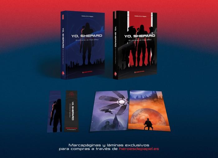"""Héroes de Papel pone a la venta """"Yo, Shepard. El universo de Mass Effect"""" en febrero"""