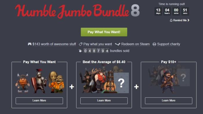 Vermintide y Jotun protagonizan el nuevo Humble Jumbo Bundle