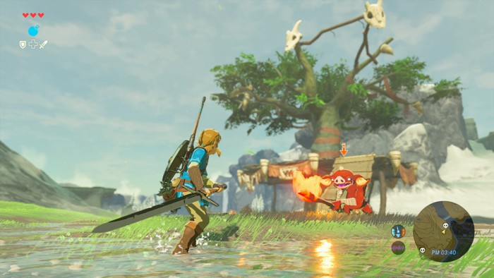 Switch y Breath of the Wild dominan en Japón