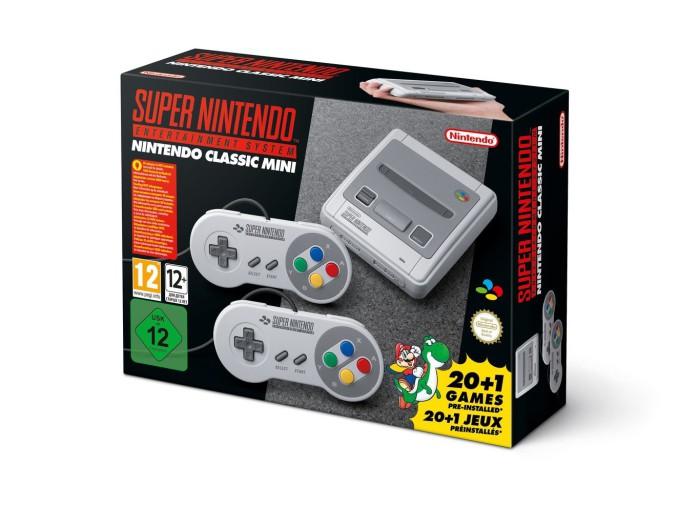 Nintendo Classic Mini SNES a la venta el 29 de septiembre
