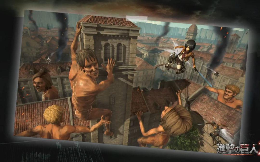 Ataque a los Titanes 2 se confirma para Switch y PC