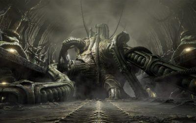 Gameplay y detalles de Scorn, terror inspirado en H. R. Giger