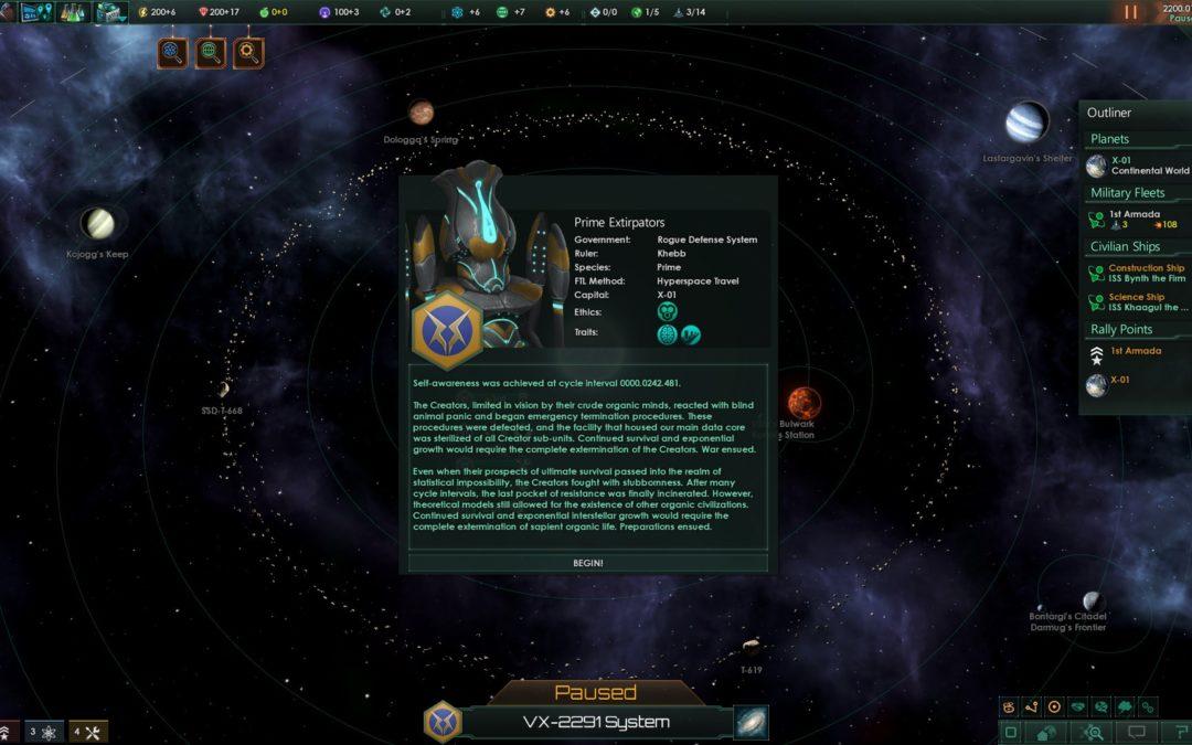 La revolución de las máquinas llega a Stellaris con su último DLC