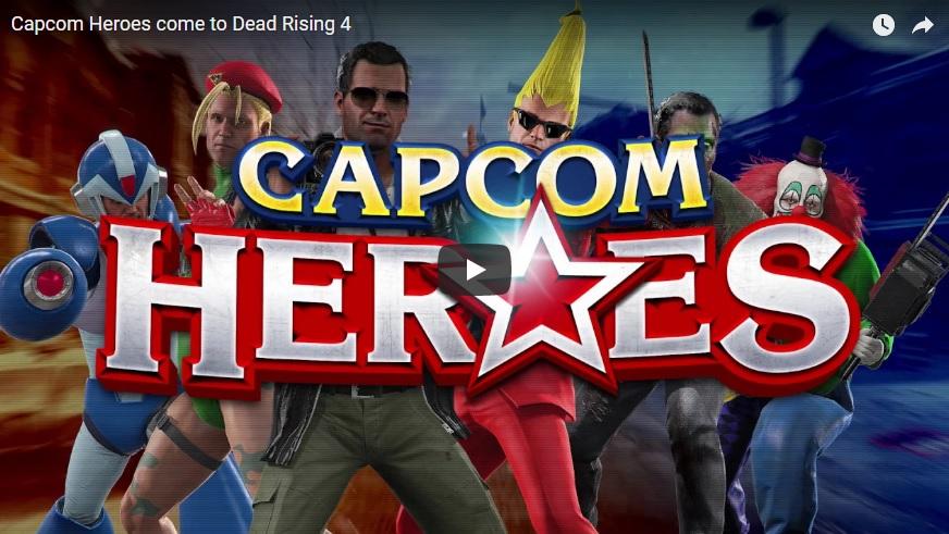 Tráiler del modo Capcom Heroes para Dead Rising 4