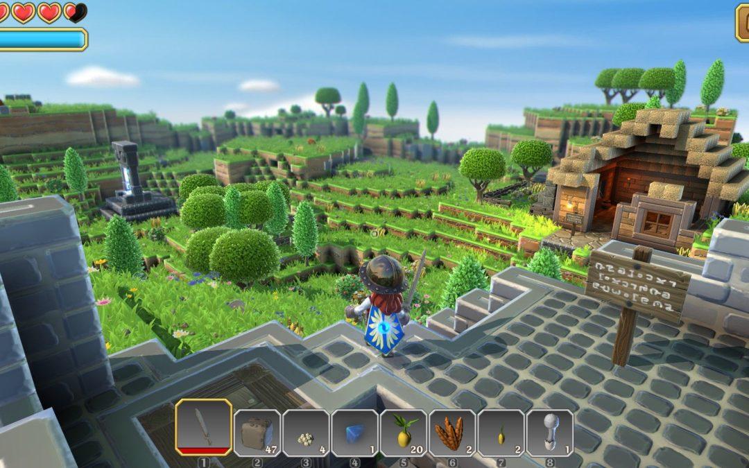 Portal Knights, un Minecraft con magia