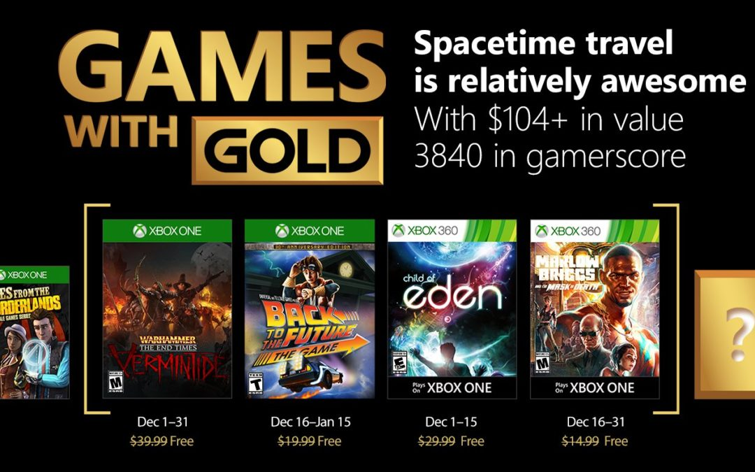 Warhammer Vermintide y Child of Eden entre los juegos de Gold para diciembre