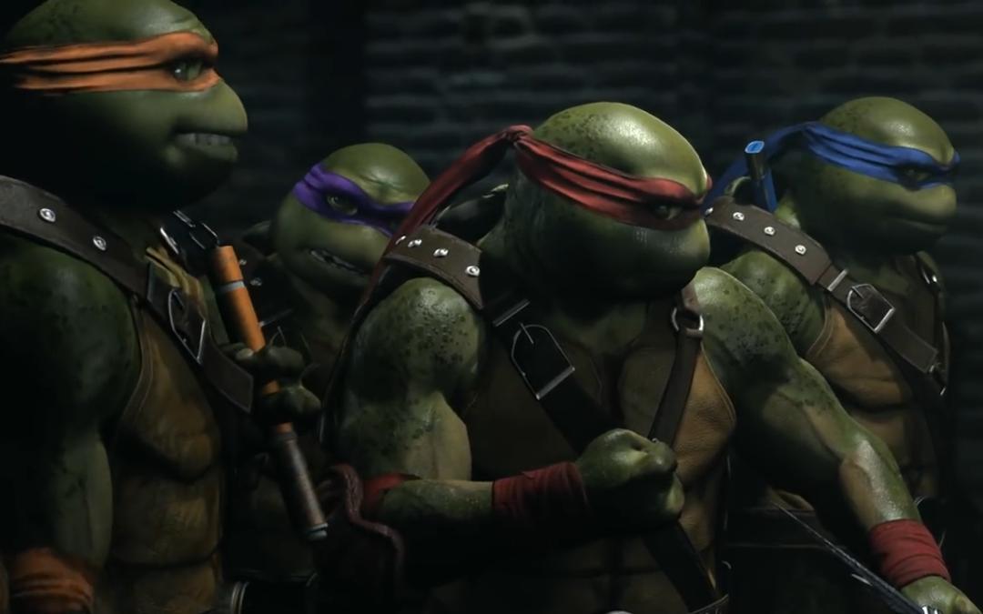 Las Tortugas Ninja, Atom y La Encantadora se unirán a Injustice 2