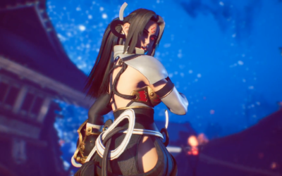 Fighting EX Layer, el nuevo videojuego de Arika, revela a Hokuto/ Shirase