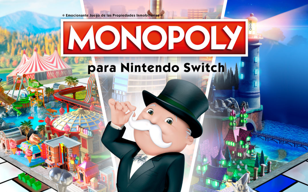 Monopoly invade Nintendo Switch