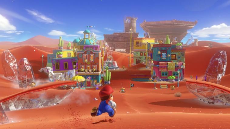 Super Mario Odyssey, gameplays con la primera hora de juego