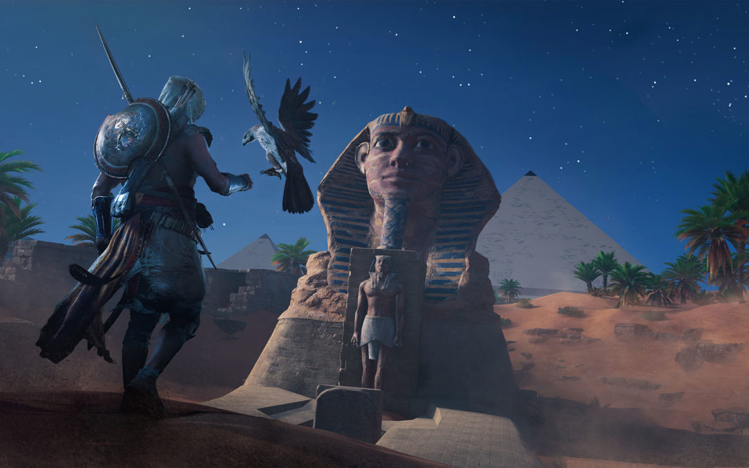 Assassin's Creed Origins, gameplay con los primeros minutos de juego