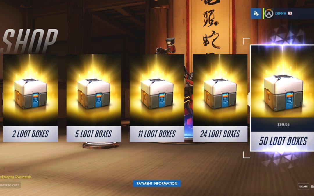 """Se aprieta la soga sobre las cajas de recompensa o """"loot boxes"""""""