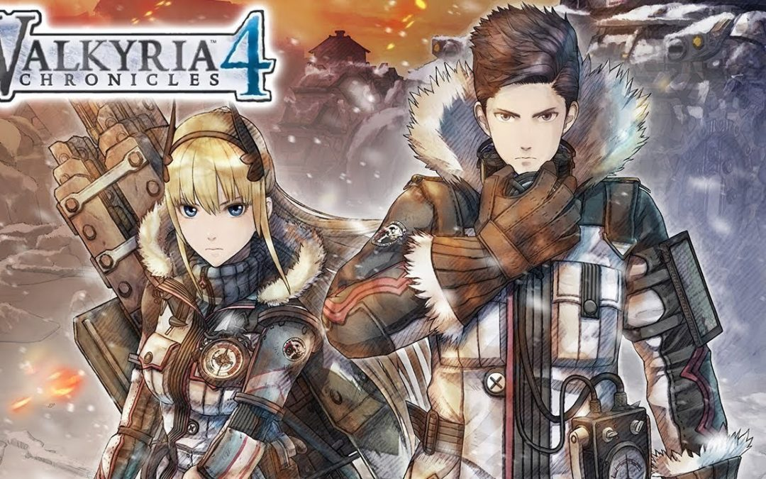 Primer gameplay de Valkyria Chronicles 4