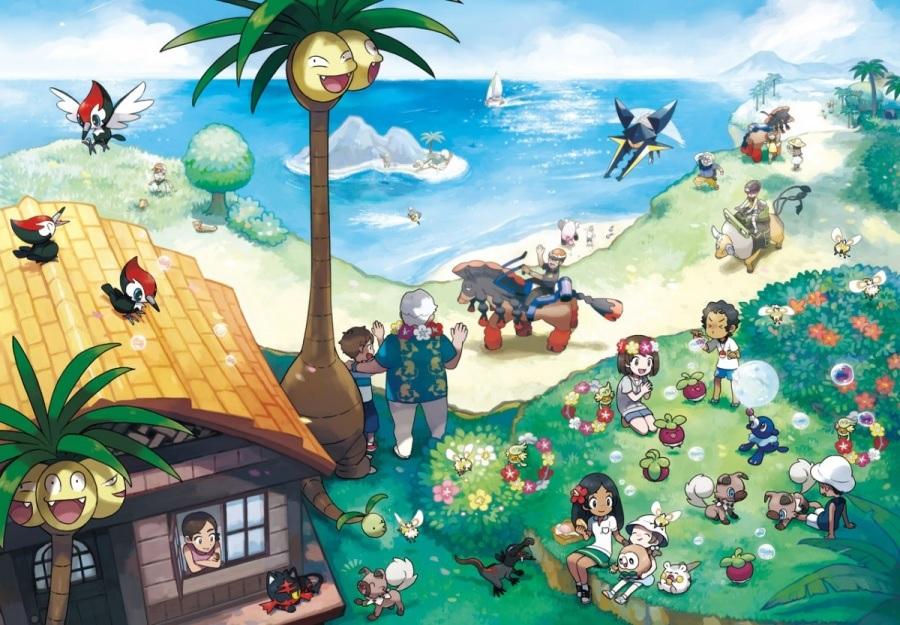 Pokémon Ultrasol/Ultraluna y los endemismos