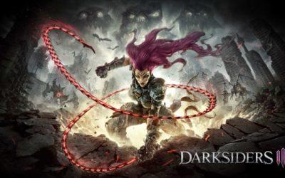 Peleando contra un golem en Darksiders 3