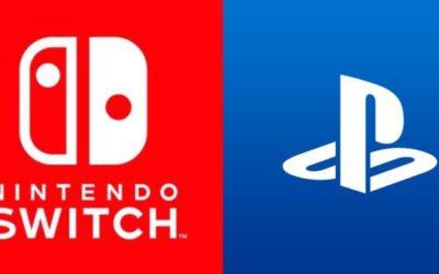 PS4 vende más de 20 millones en un año, 10 millones de Switch desde marzo