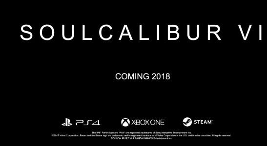 SOULCALIBUR VI anunciado, salida en 2018