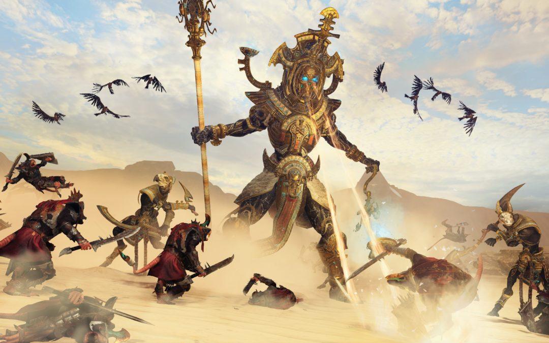 Los Reyes Funerarios llegan a Total War: Warhammer 2 en enero