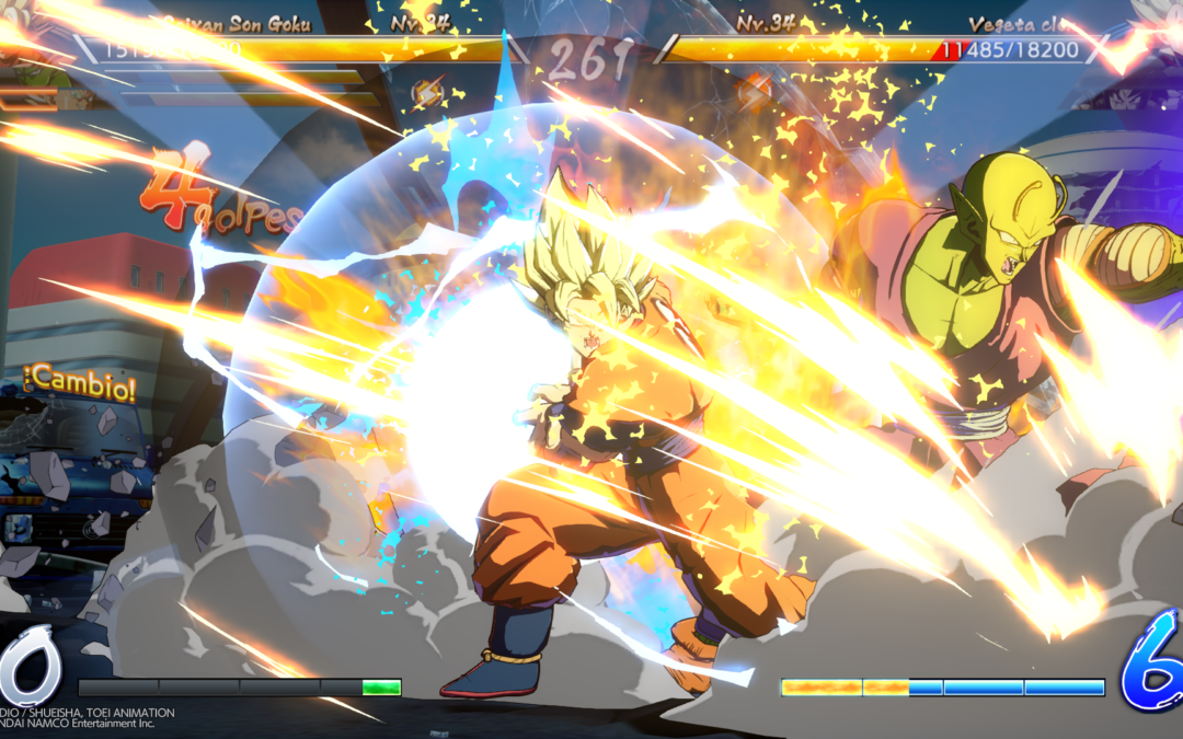 Dragon Ball FighterZ y su sistema de auto-combos