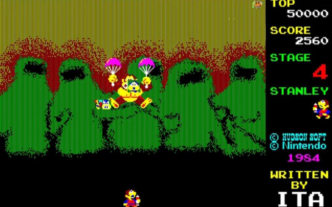 Recuperan una copia de Donkey Kong 3: The Great Counterattack y ya se puede jugar ¿Intentaréis completarlo?