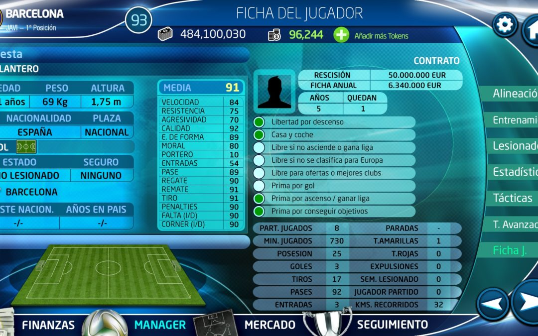 PC Fútbol 18, ya disponible para Android. Próximamente llegará a iOS y PC