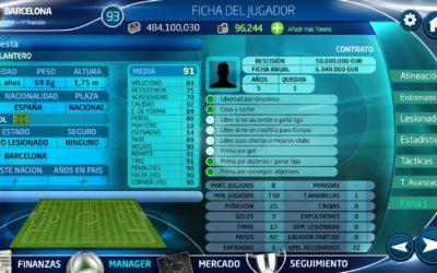 PC Fútbol 18, ya disponible para Android. Próximamente llegará a iOS y PC