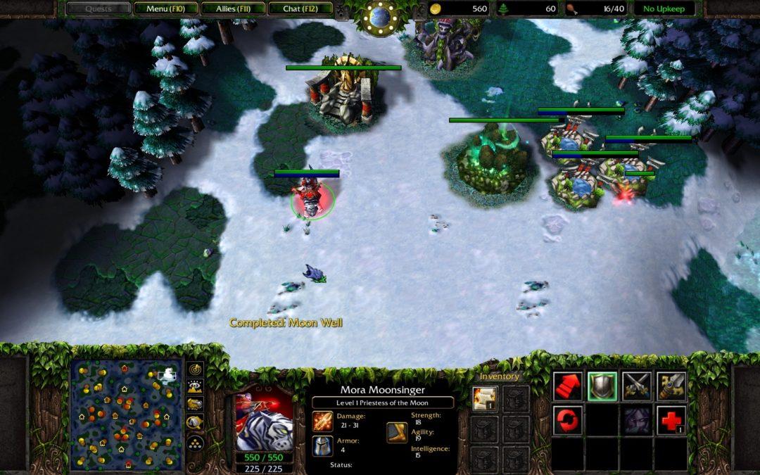 Años después de su lanzamiento Warcraft III se actualiza con nuevas características