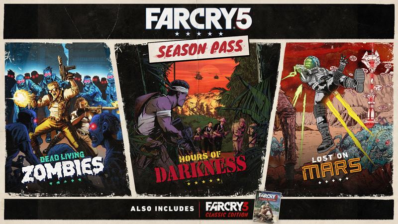 Detallado el contenido del Season Pass de Far Cry 5
