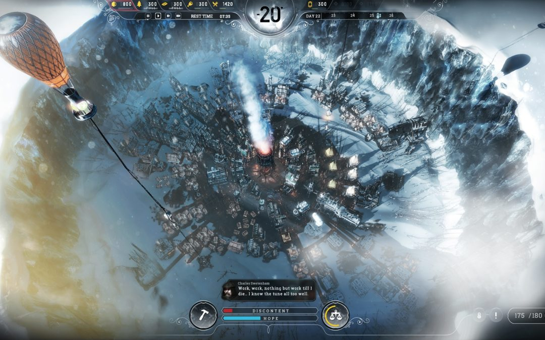 "Frostpunk: el inmisericorde ""city builder"" de los creadores de This War of Mine"