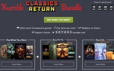 Shadowrun e inXile, protagonistas del Humble Classics Return Bundle