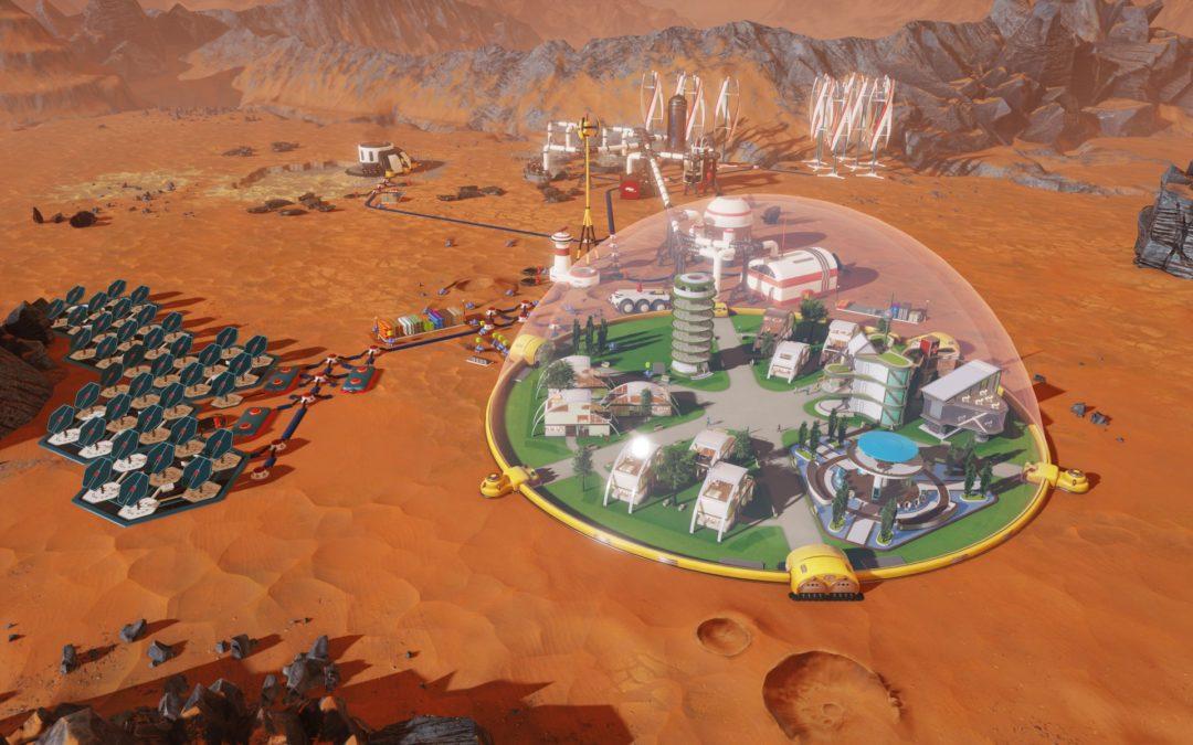 Surviving Mars nos invita a colonizar el planeta rojo el 15 de marzo