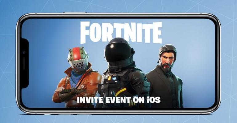 Fortnite confirma su próxima llegada a móviles