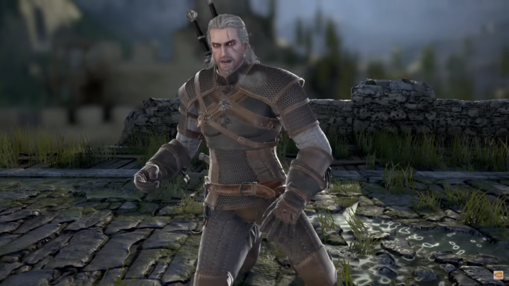 Geralt de Rivia se presenta en SOULCALIBUR VI