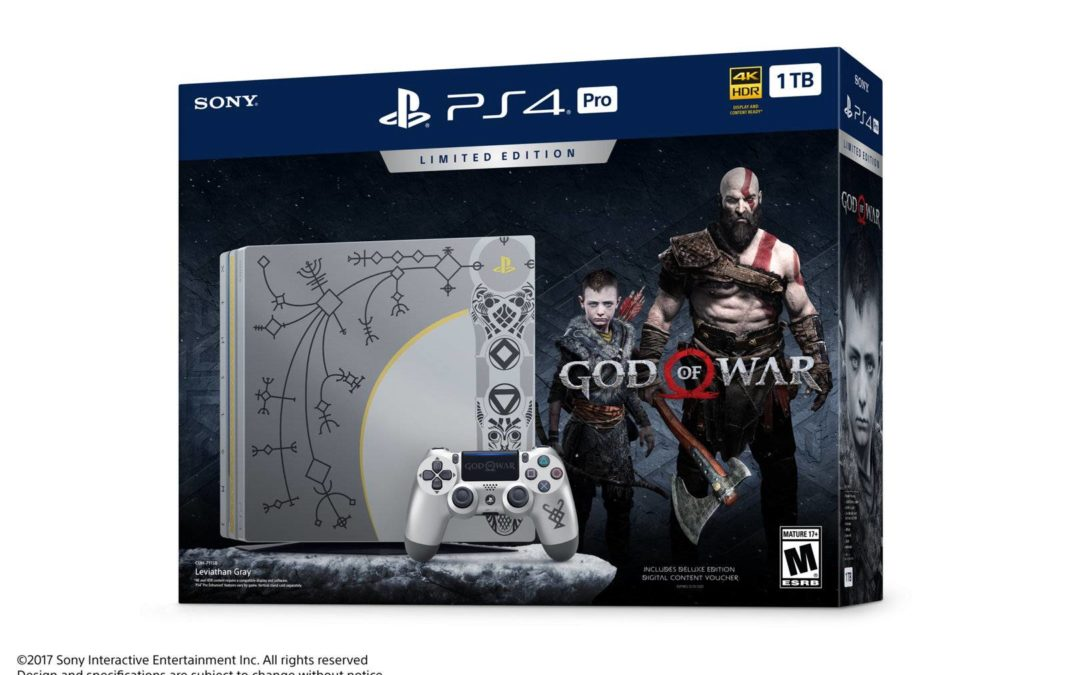 PlayStation muestra la PlayStation Pro edición limitada de God of War