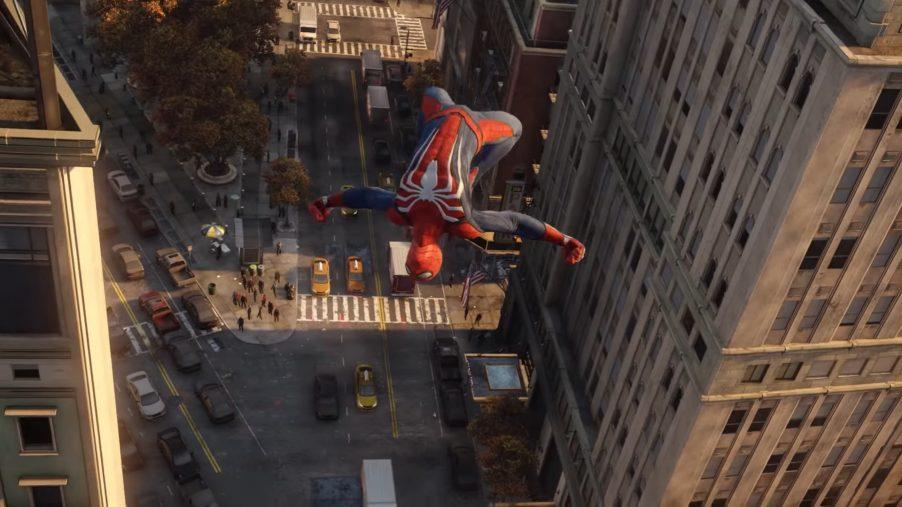 El sistema de combate y el balanceo entre edificios en Spider-Man PS4