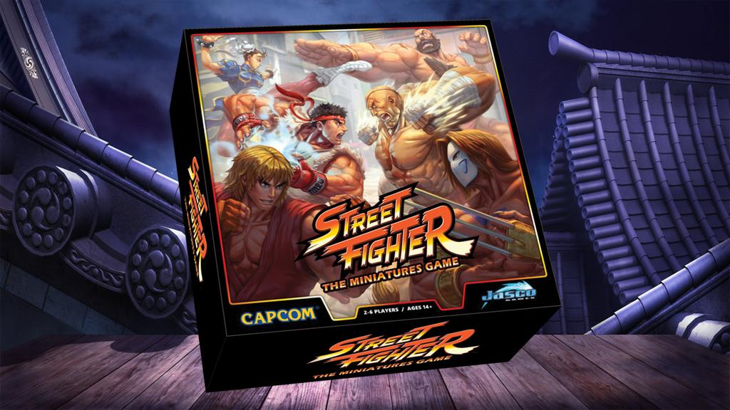 Street Fighter: The Miniatures Game, Ryu, Ken y Chun-Li saltan a los tableros