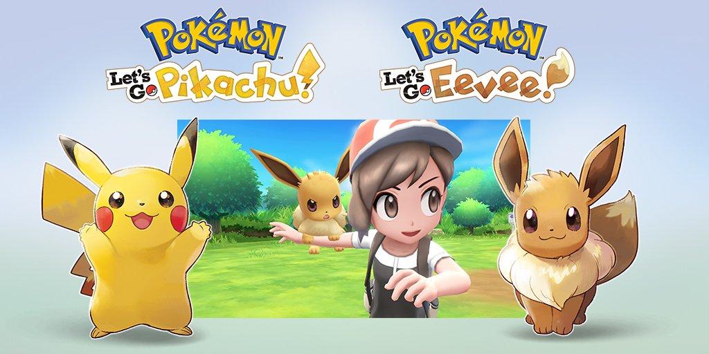 Anuncios Pokémon: Let's Go Eevee/Pikachu 16 de noviembre, RPG clásico para 2019 y Quest ya disponible