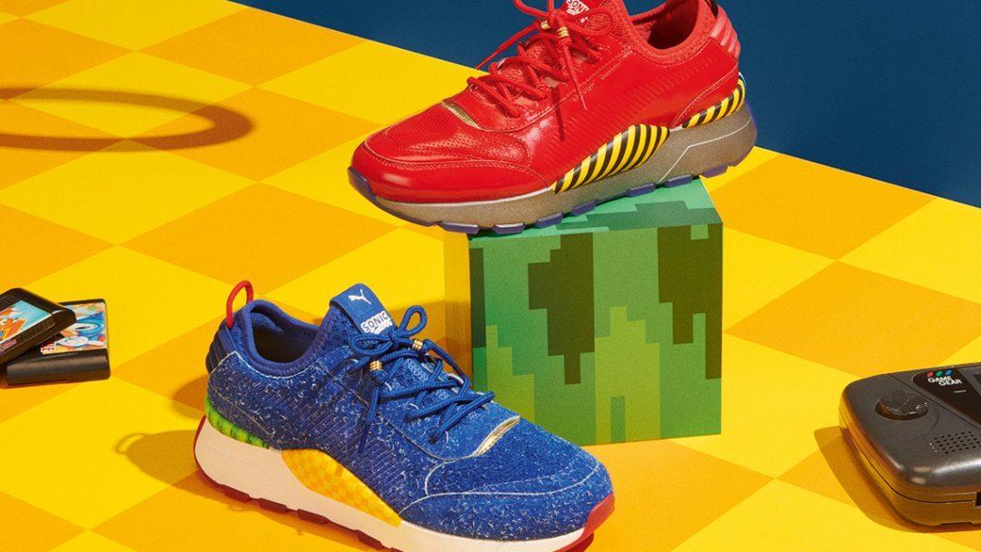 Nuevas zapatillas de Sonic en colaboración con Puma